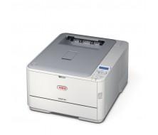 Impresora OKI C321dn Impresora Laser / LED A4 Color 20ppm, 22ppm Monocromo,Tarjeta de Red, USB, bandeja papel:250h. Duplex
