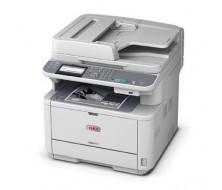 Multifunción OKI MB441dn Equipo Multifunción A4 LED (3 en 1), Impresora, escaner Color y copiadora 29ppm, 2400x600PCL.