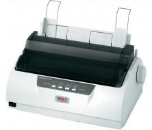 OKI ML1120eco Impresora80 col. 9 agujas, 333cps, Paralelo, USB y Serie, 1 original + 4 copias