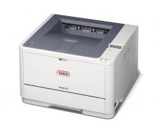 Impresora OKI B401dn 29ppm, 64MB, Paralelo, USB 2.0, PCL6, impresion de codigo de barras, bandeja papel:250. Duplex. Red.