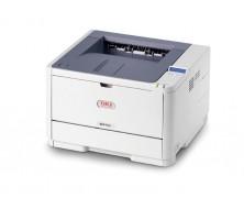 Impresora OKI B411dn L6 - Impresora- B/W - duplex - LED - Legal, A4 - 2400 ppp x 600 ppp - hasta 33 ppm