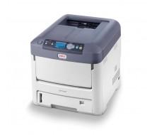 Impresora OKI C711WT Impresora A4 CMY y Blanco, 8ppm (modo transparencia), 34ppm (Papel Normal)