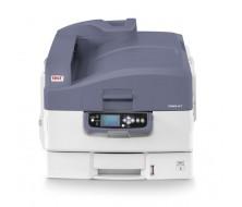 Impresora OKI C920WT Impresora A3 CMY y Blanco, 10ppm A4 (Modo Transparencia), 36ppm A4 (Papel Normal)