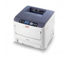Impresora OKI C610DM Impresora Laser / LED A4 34ppm Color, 36 ppm MONO, 1200x600 dpi, Software DICOM