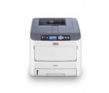 Impresora OKI C610dn - Impresora,  34ppm Color, 36ppm Monocromo, 1200x600, pcl/ps/sidm, pdf, tarjeta de red, duplex