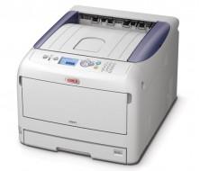 Impresora OKI C841cdtn, LED A4  35ppm Color Y MONO, A3 20 Color y mono 1200x1200dp.