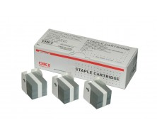 Grapas OKI C9600 / C9800 / C9650 / C9655 / C9850 / C9800MFP / C9850MFP (1 CAJA CON 3 CARTUCHOS DE 5.000 UNID.)