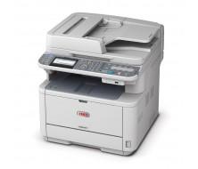 Multifunción OKI MB491dn, (4 en 1), impre,fax,escaner Color y copiadora40ppm,1200x1200dpi.
