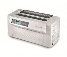 OKI ML4410 - Impresora- B/W - matriz de puntos - rollo (40.6 cm) - 288 ppp x 144 ppp - hasta 1066 car./seg. - paralelo, serial