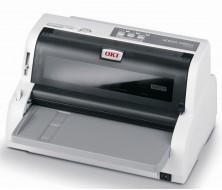 OKI ML5100FBeco Impresora80 col. 24 agujas, 250 cps. Tipo Bancario. Paralelo, USB, Serie,original+4 copias, alimentacion frontal